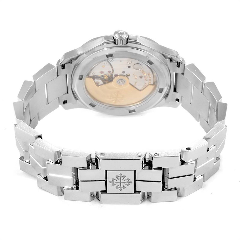 Patek Philippe Aquanaut Midsize Automatic Steel Watch Watch 5066 SwissWatchExpo
