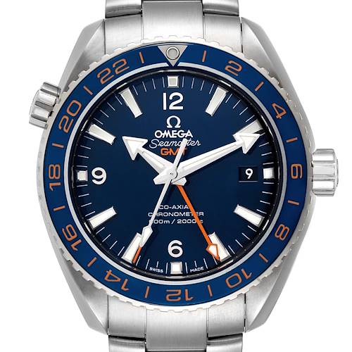 Photo of Omega Seamaster Planet Ocean GMT GoodPlanet Mens Watch 232.30.44.22.03.001