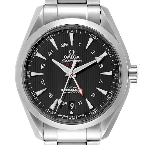 Photo of Omega Seamaster Aqua Terra GMT Co-Axial Watch 231.10.43.22.01.001 Box Card