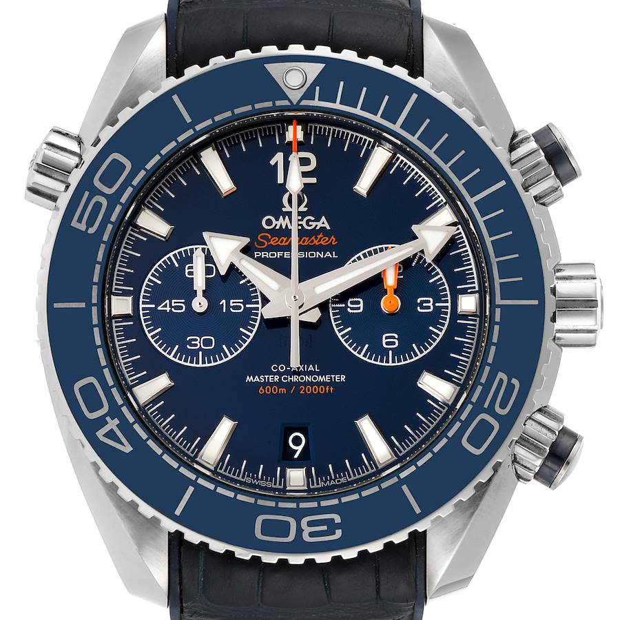 Omega Seamaster Planet Ocean 600m Co-Axial Watch 215.33.46.51.03.001 SwissWatchExpo
