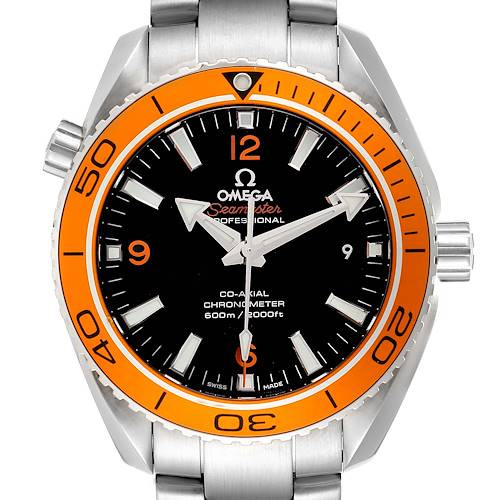 Photo of Omega Seamaster Planet Ocean Watch 232.30.42.21.01.002 Box Card