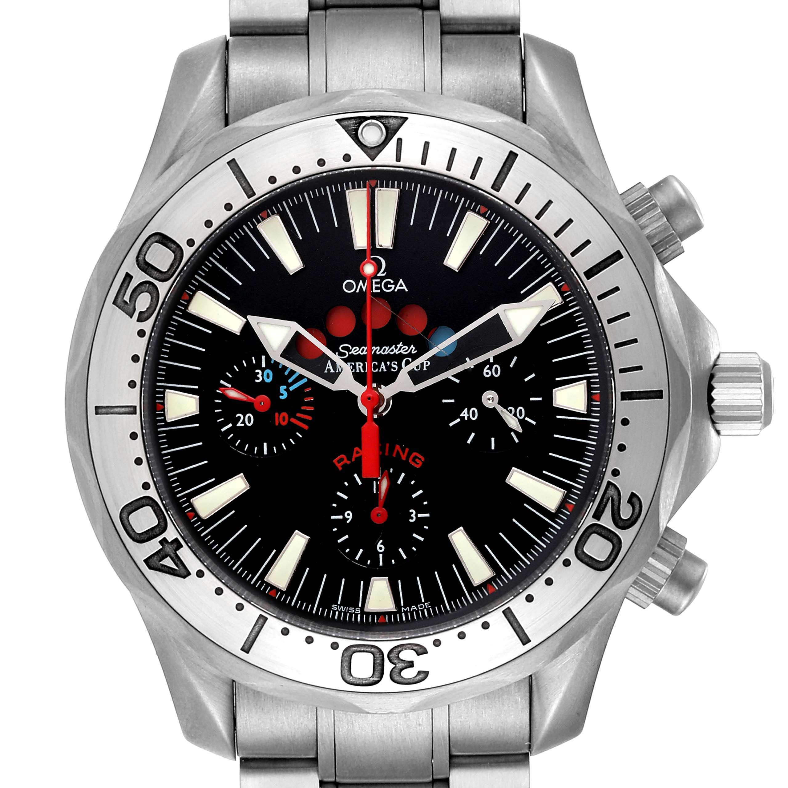 Omega Seamaster Regatta Racing Titanium Mens Watch 2269.52.00