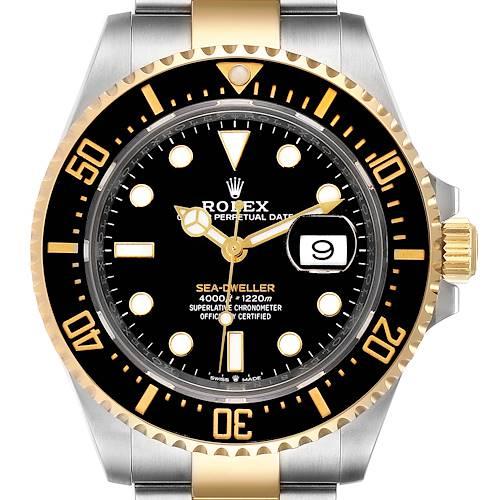 Photo of Rolex Seadweller Black Dial Steel Yellow Gold Mens Watch 126603 Unworn