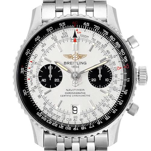 Photo of Breitling Navitimer Exemplaires Limited Edition Steel Mens Watch A23330