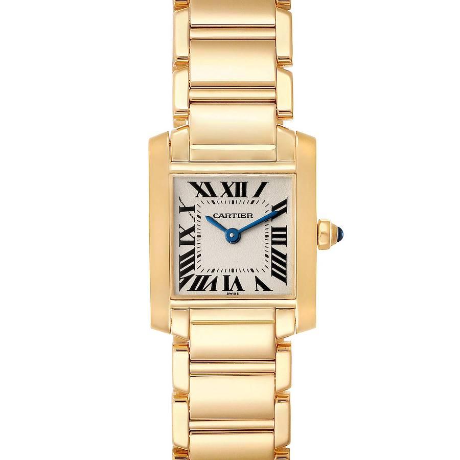 Cartier Tank Francaise Yellow Gold Quartz Ladies Watch W50002N2 SwissWatchExpo