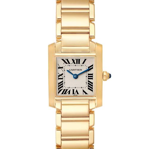 Photo of Cartier Tank Francaise Yellow Gold Quartz Ladies Watch W50002N2