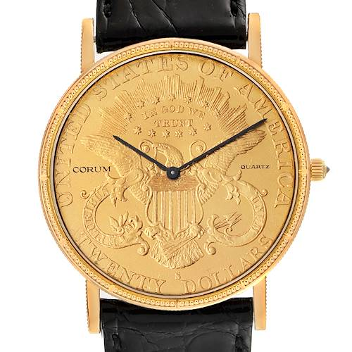 Photo of Corum 20 Dollars Double Eagle Yellow Gold Coin Year 1900