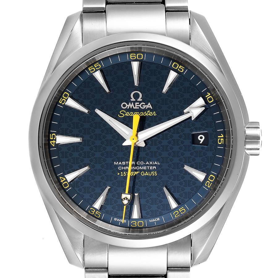 Omega Seamaster Aqua Terra Spectre Bond Watch 231.10.42.21.03.004 Box Card SwissWatchExpo