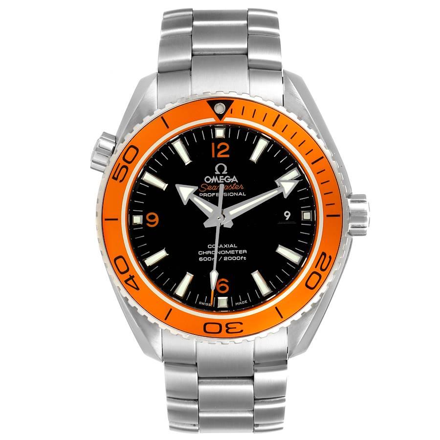 Omega Seamaster Planet Ocean 45 mm Mens Watch 232.30.46.21.01.002 Box Card SwissWatchExpo