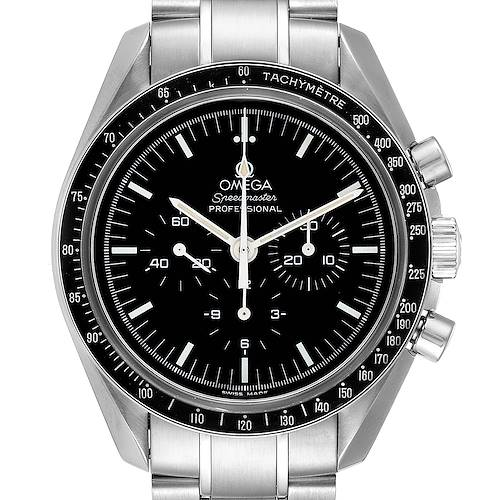 Photo of Omega Speedmaster Chronograph Black Dial Mens MoonWatch 3570.50.00