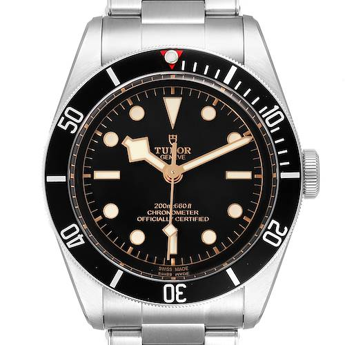 Photo of Tudor Heritage Black Bay Stainless Steel Mens Watch 79230 Box Card