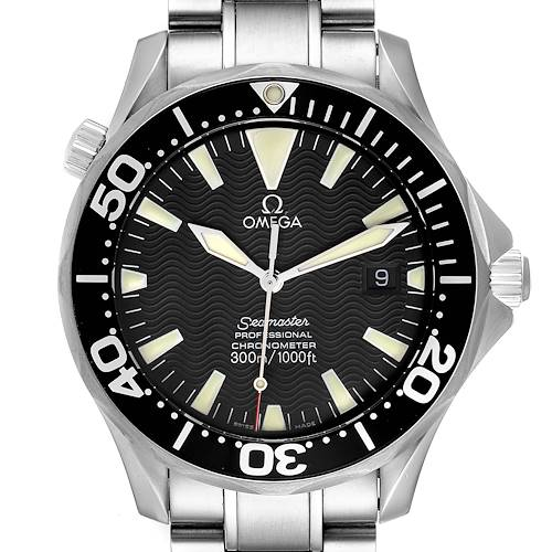 Photo of Omega Seamaster 41 300M Black Dial Mens Watch 2254.50.00 Card
