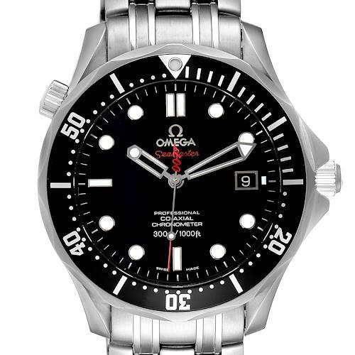 Photo of Omega Seamaster Bond 007 Limited Edition Watch 212.30.41.20.01.001 Box Card