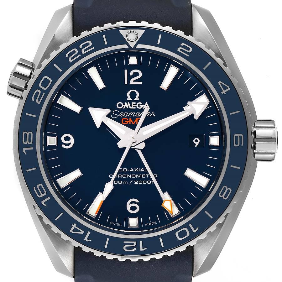 Omega Seamaster Planet Ocean GMT 600m Watch 232.92.44.22.03.001 SwissWatchExpo