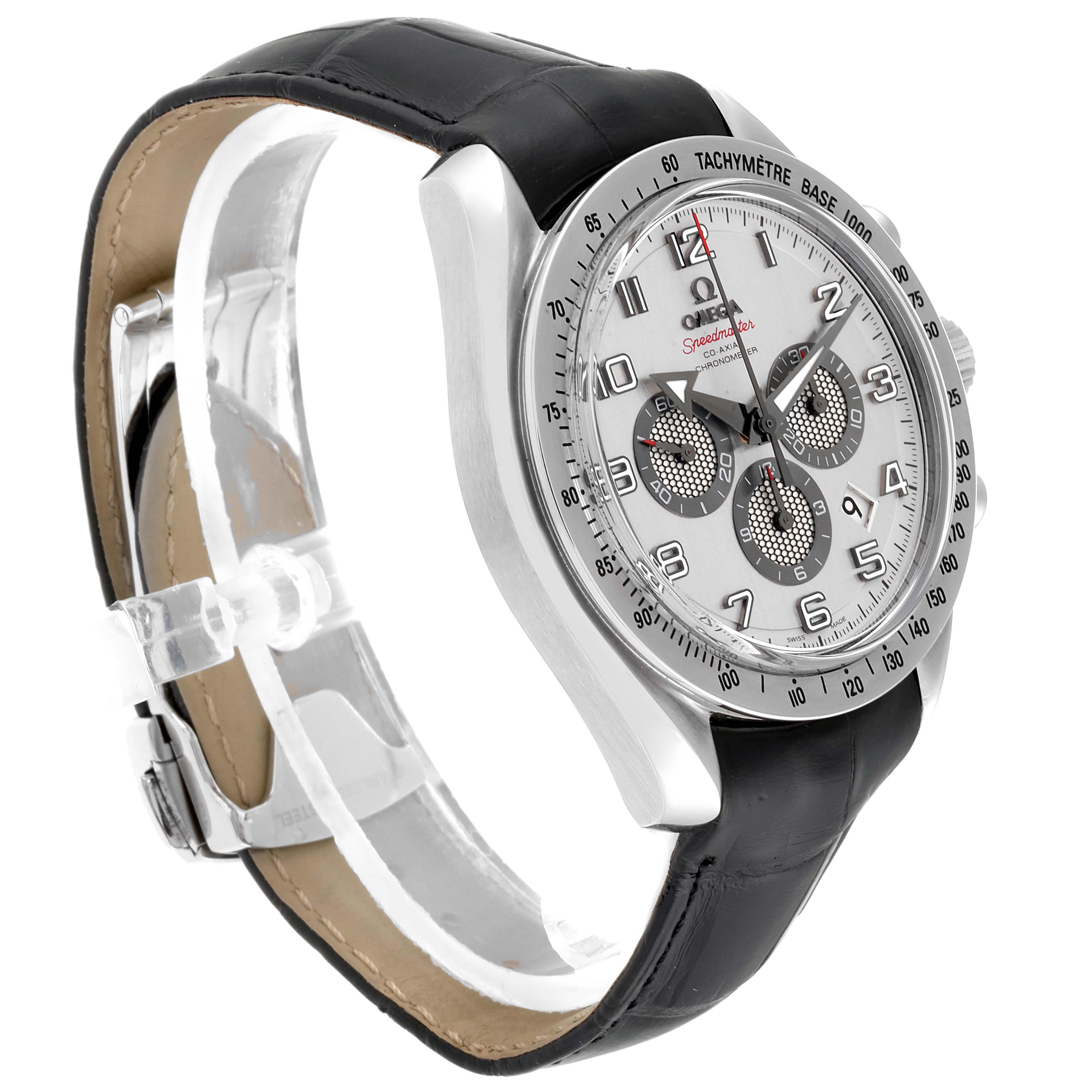 Omega Speedmaster Broad Arrow Silver Dial Watch 321.13.44.50.02.001 SwissWatchExpo