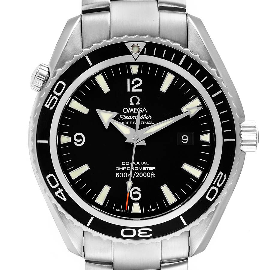 Omega Seamaster Planet Ocean XL Co-Axial Mens Watch 2200.50.00 SwissWatchExpo