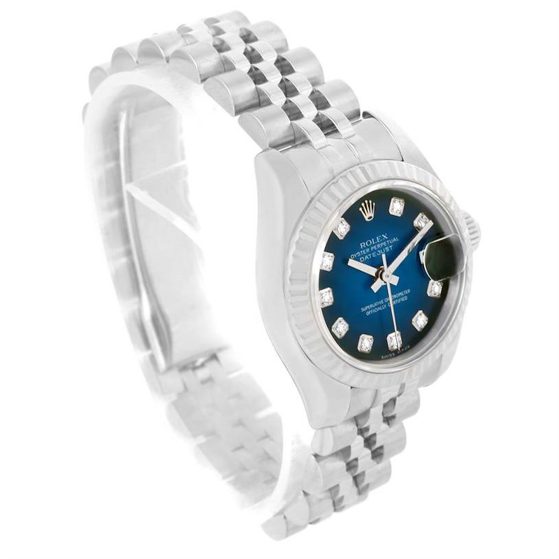 Rolex Datejust Steel White Gold Vignette Diamond Dial Watch 179174 Partial payment for exchange SwissWatchExpo