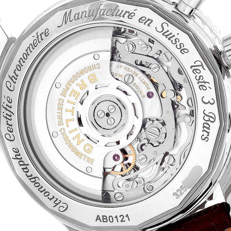 Breitling Navitimer 01 Panda Dial Automatic Steel Mens Watch AB0120 Box Papers SwissWatchExpo