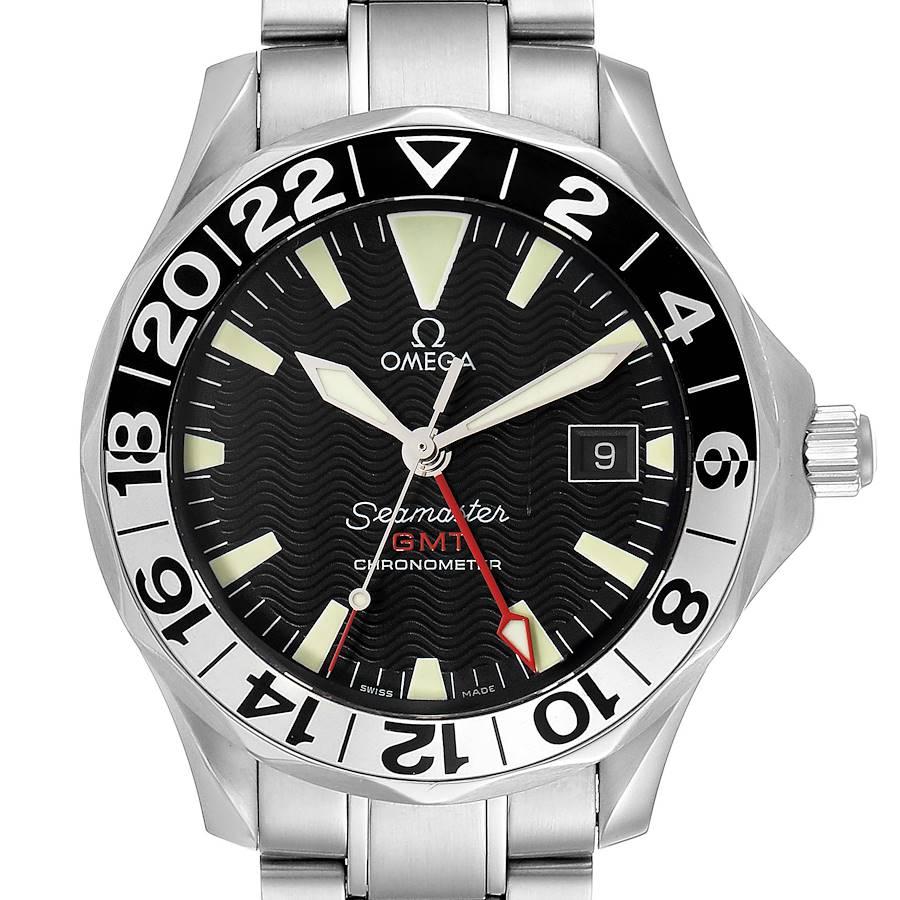 Omega Seamaster GMT 50th Anniversary Steel Mens Watch 2234.50.00 SwissWatchExpo