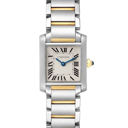 Photo of Cartier Tank Francaise Small Two Tone Ladies Watch W51007Q4
