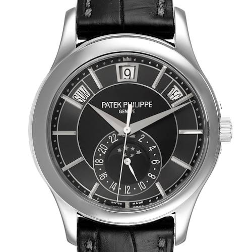 Photo of Patek Philippe Complications Annual Calendar White Gold Mens Watch 5205