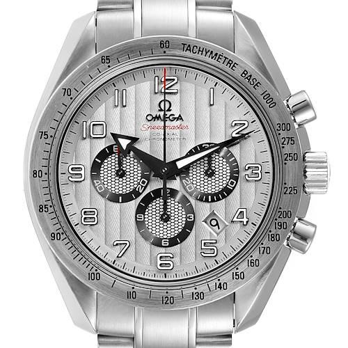 Photo of Omega Speedmaster Broad Arrow Silver Dial Steel Watch 321.10.44.50.02.001