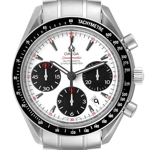 Photo of Omega Speedmaster Date Panda Dial Steel Watch 323.30.40.40.04.001 Box Card