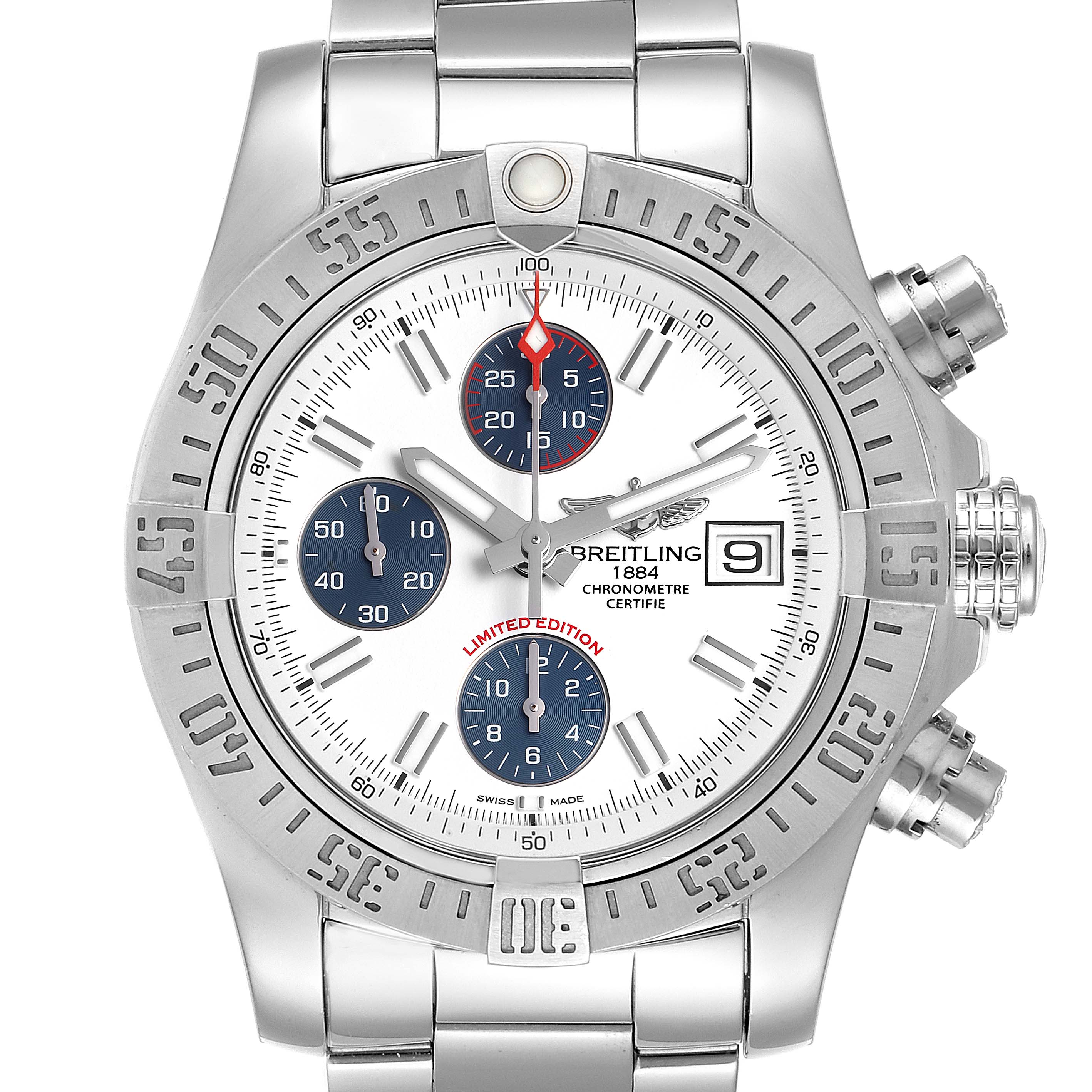 Breitling Aeromarine Super Avenger Mens Watch A13381