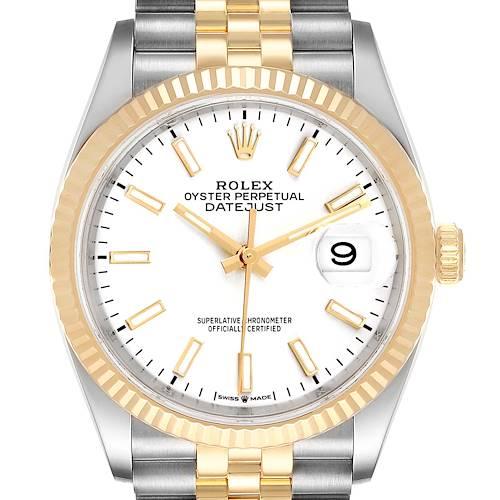 Photo of Rolex Datejust Steel Yellow Gold Jubilee Bracelet Men's Watch 126233