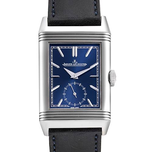 Photo of Jaeger LeCoultre Reverso Tribute Mens Watch 214.8.62 Q3978480 Box Papers