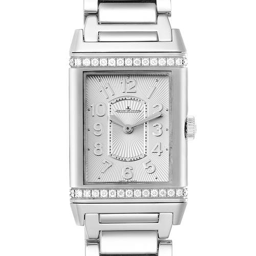 Photo of Jaeger LeCoultre Reverso Ultra Thin Diamond Ladies Watch 268.8.86 Q3208121