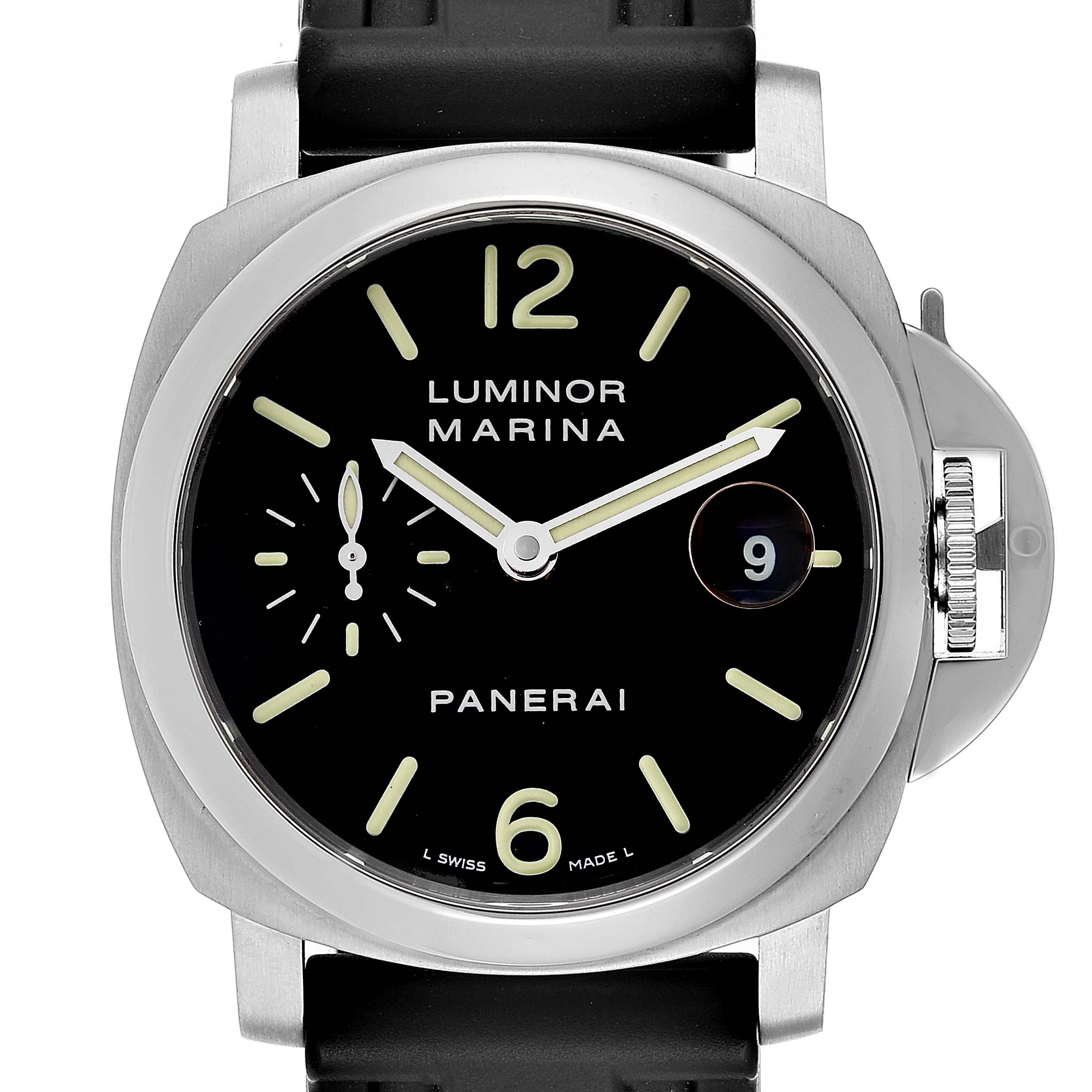 Photo of Panerai Luminor Marina Automatic 40mm Watch PAM048 PAM00048 Box Papers