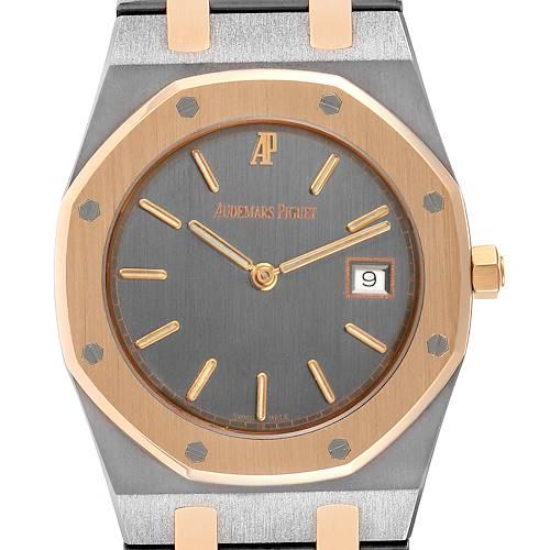 Photo of Audemars Piguet Royal Oak Tantalum Rose Gold Mens Watch 56175