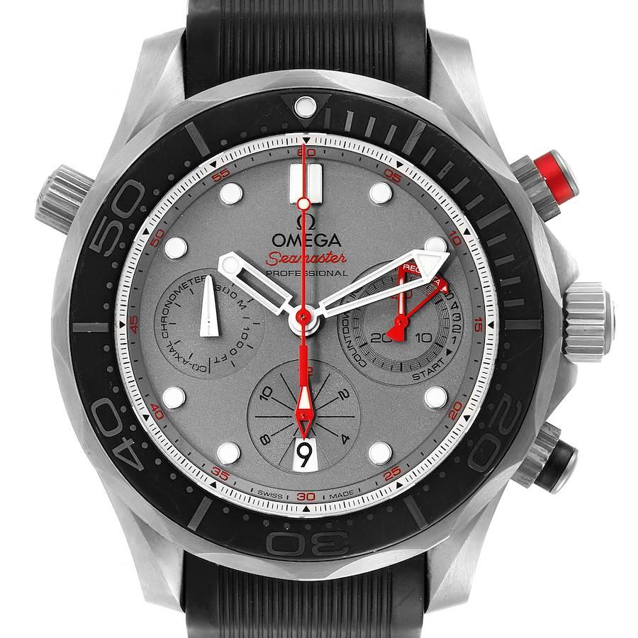 Omega Seamaster 300 ETNZ Titanium Mens Watch 212.92.44.50.99.001 Box Card SwissWatchExpo