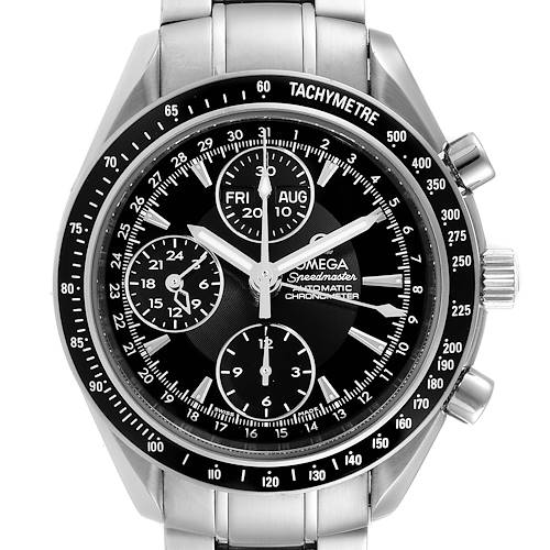 Photo of Omega Speedmaster Day-Date 40 Chronograph Mens Watch Watch 3220.50.00 Card
