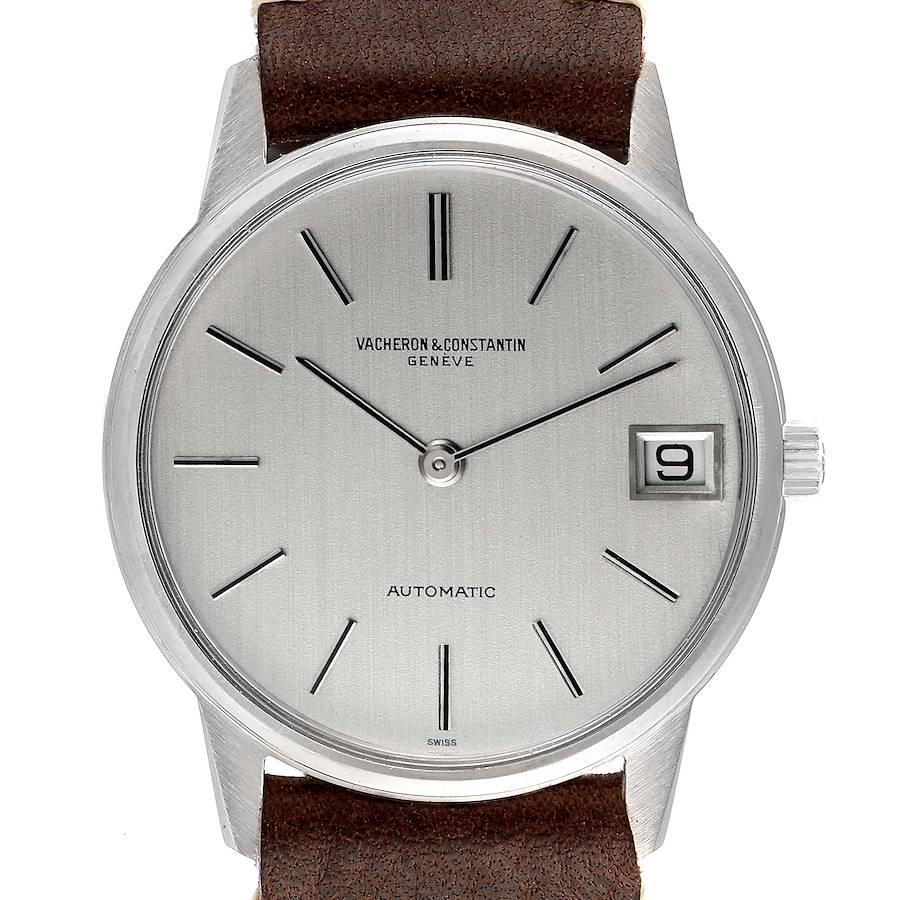 Vacheron Constantin Patrimony Steel Automatic Vintage Mens Watch 7592 SwissWatchExpo