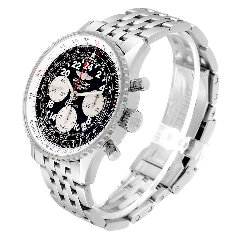 Breitling Navitimer Cosmonaute 02 Limited Edition Watch AB0210 Box Papers SwissWatchExpo