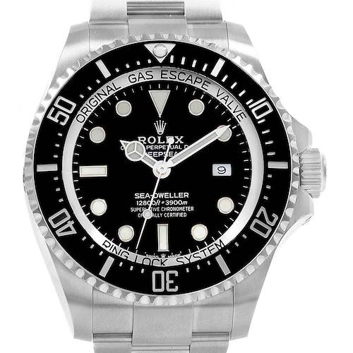 Photo of Rolex Seadweller Deepsea 44 Ceramic Bezel Mens Watch 126660 Unworn Box Papers