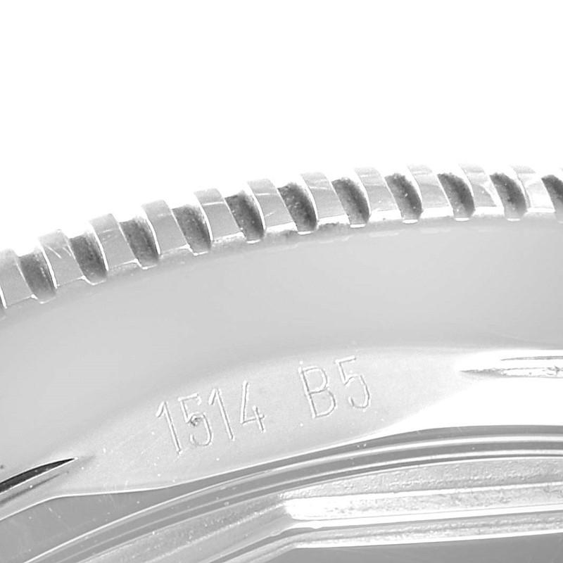 Breitling Superocean Heritage 42 Black Dial Steel Mens Watch A17321 SwissWatchExpo