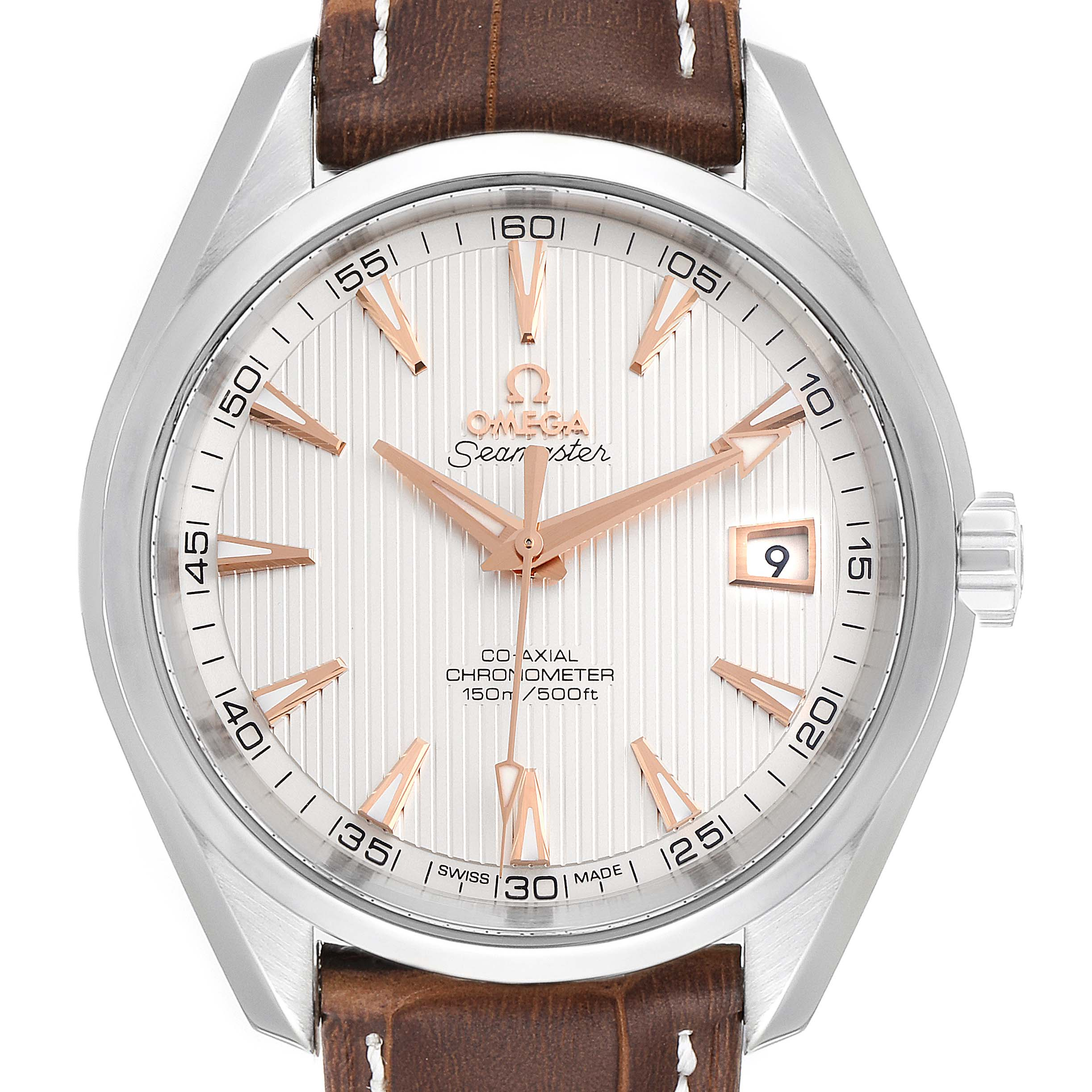 Photo of Omega Aqua Terra 150m 41.5mm Co-Axial Mens Watch 231.13.42.21.02.002