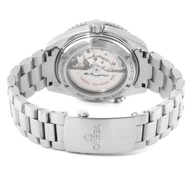 Omega Seamaster Planet Ocean 45 mm Watch 232.30.46.21.01.002 Box Card SwissWatchExpo