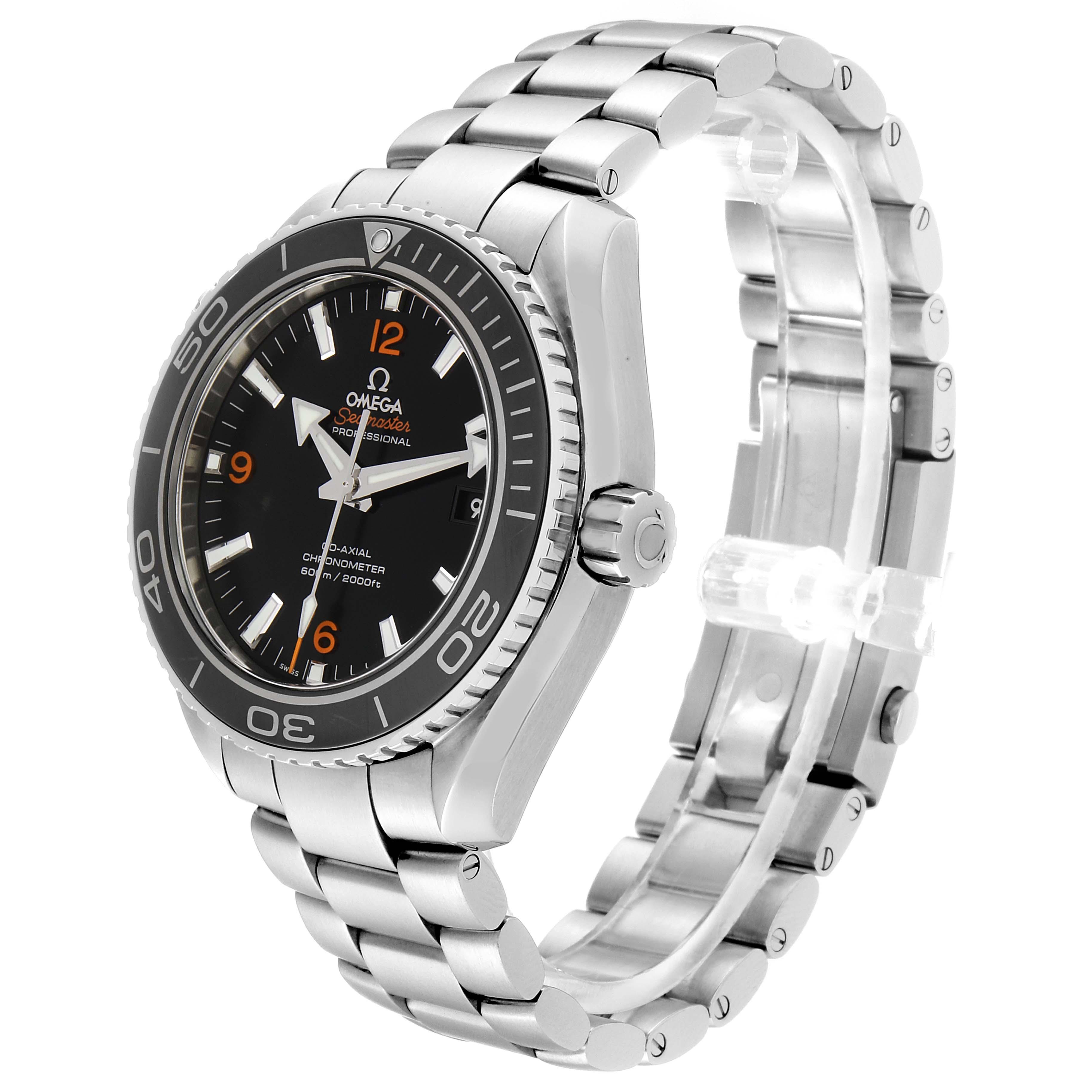 Omega Seamaster Planet Ocean 600M Watch 232.30.46.21.01.003 Box Card SwissWatchExpo