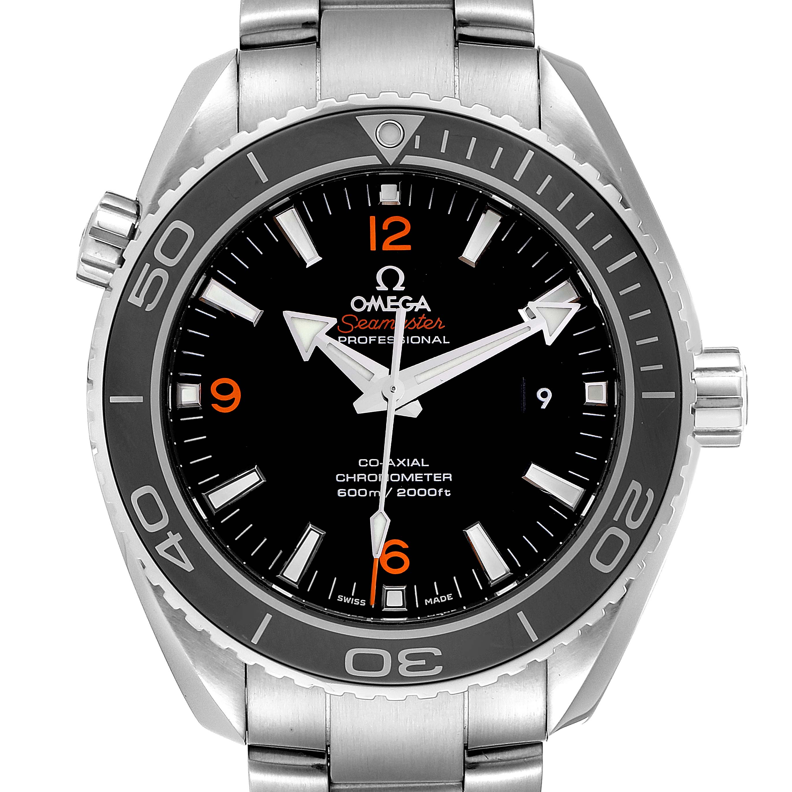 Photo of Omega Seamaster Planet Ocean 600M Watch 232.30.46.21.01.003 Box Card