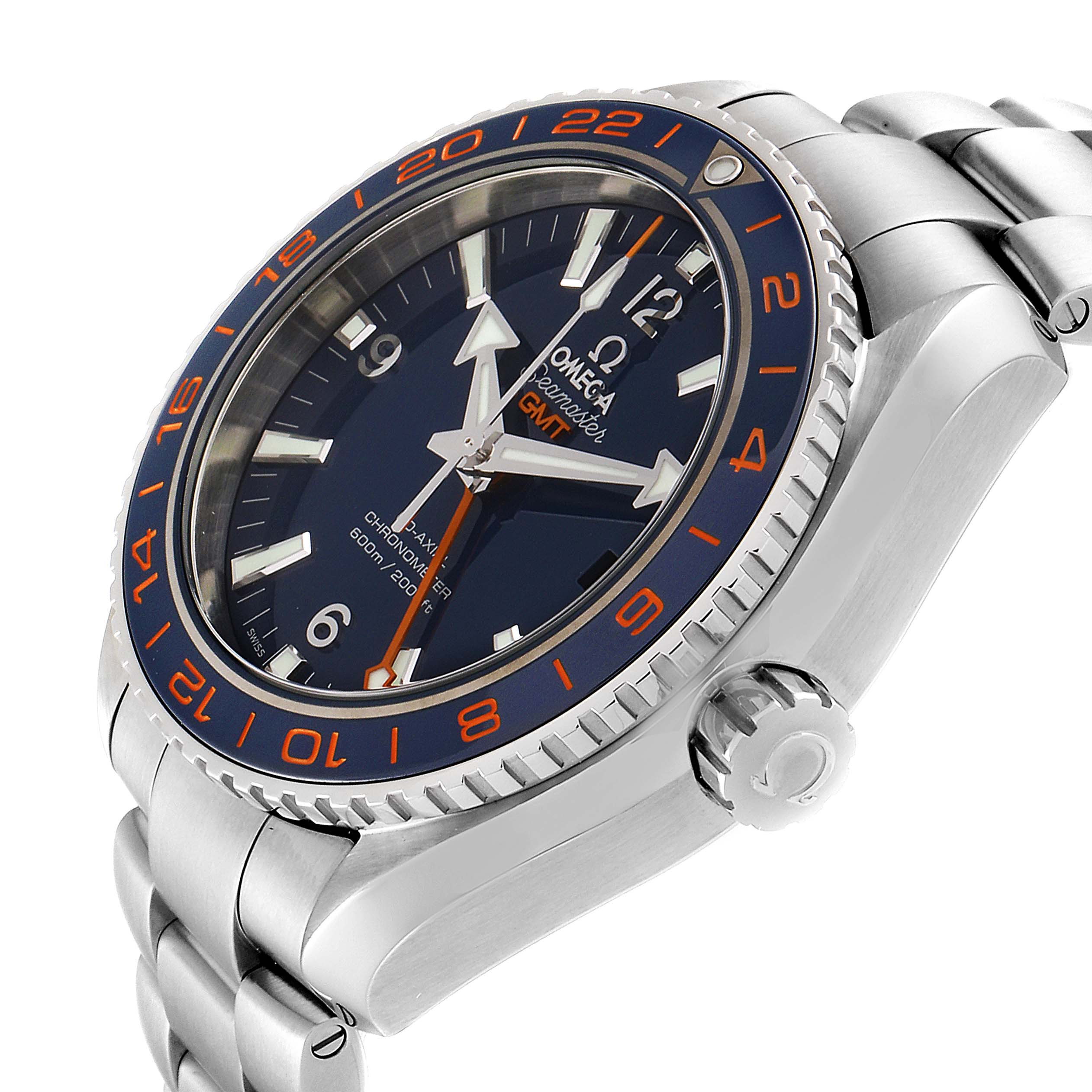 Omega Seamaster Planet Ocean GMT GoodPlanet Mens Watch 232.30.44.22.03.001 SwissWatchExpo