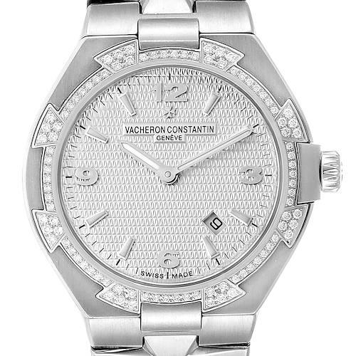 Photo of Vacheron Constantin Overseas 34 Steel Diamond Ladies Watch 25750
