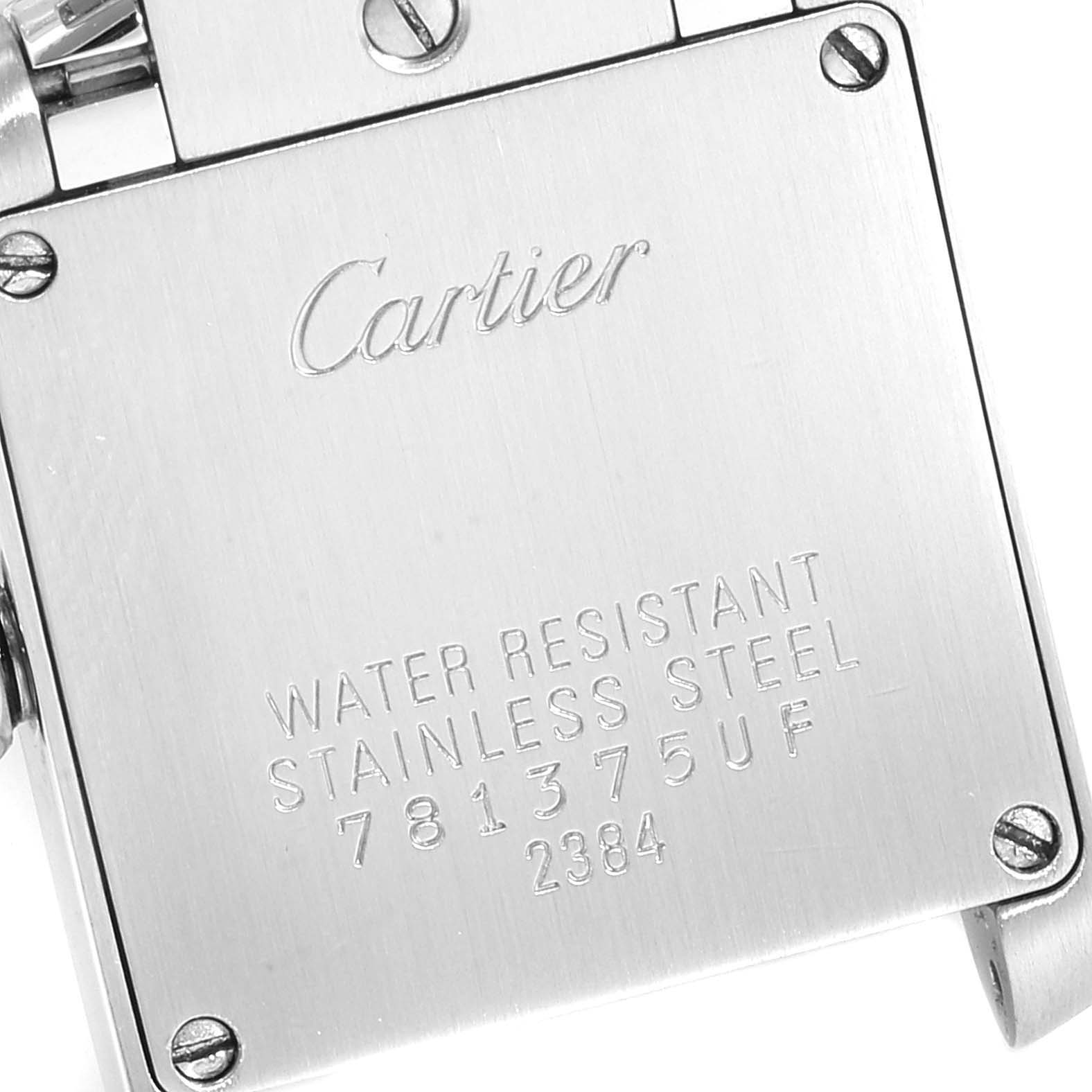 Cartier Tank Francaise Steel Yellow Gold Small Ladies Watch W51007Q4 SwissWatchExpo