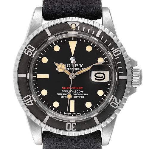 Photo of Rolex Submariner Vintage Black Mark IV Dial Steel Mens Watch 1680