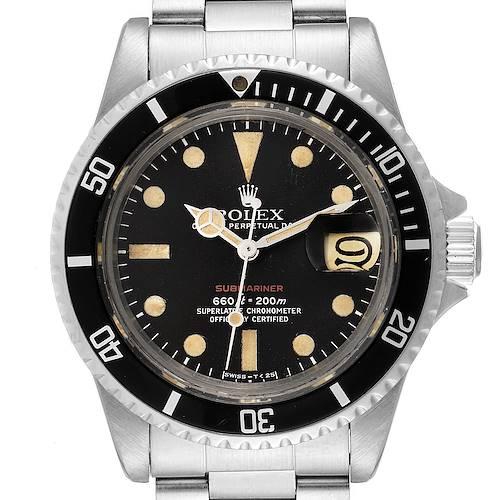 Photo of Rolex Submariner Vintage Black Mark V Dial Steel Mens Watch 1680