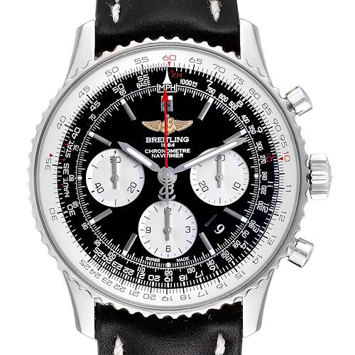 Photo of Breitling Navitimer 01 Black Strap Automatic Mens Watch AB0120