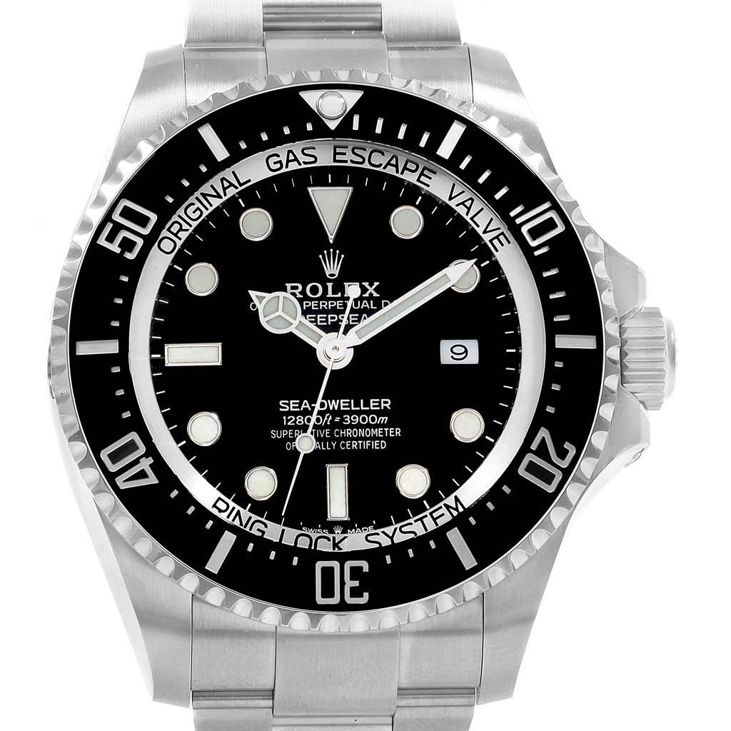 Rolex Seadweller Deepsea 44 Ceramic Bezel Mens Watch 126660 Unworn Box Papers